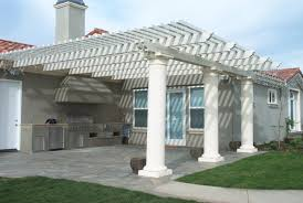 full size of patio ideas covered kits with white louvered cover and deck roof patios dma wood patio covers v71 wood