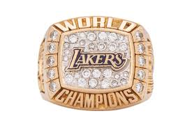 Los angeles lakers basketball tickets. Kobe Bryant Lakers Championship Ring Sells For 206k Usd Hypebeast