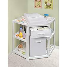 Change table baby Diy Badger Basket Diaper Corner Baby Changing Table With Hamperbasket White Sears Baby Changing Tables Sears