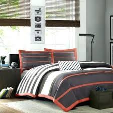 grey and orange bedding grey duvet cover set the home decorating company orange bedding sets grey and orange bedding