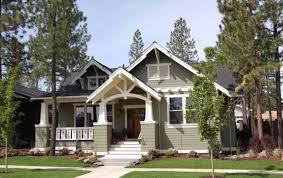 craftsman style single story house plans single story