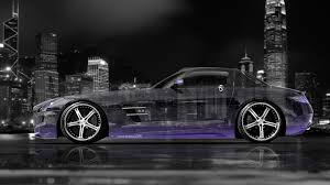 mercedes sls amg crystal city car