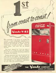 Original Coke Vending Machine Magnificent Vendo 48 Coin DoorRoute 48 Store Vendo 48 Vintage Coca Cola Machine