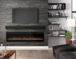 dimplex prism wall mount linear electric fireplace