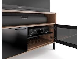 cavo 8168 tv cabinet for soundbar flat panel stand bdi pertaining to tv cabinets with glass