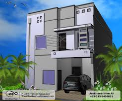 Small Picture marla front elevation house plans modern design indian home