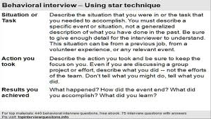 Sample Resume Questions Resumes How To Answer Interview Questions Samples Sample And Answers 87