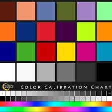 Color Calibration Chart Jason Jones Imagery Color Calibration Chart