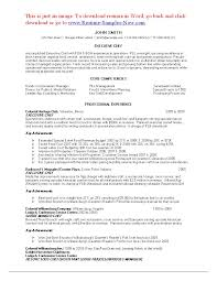 63 Executive Chef Resume Sample Sample Resume Executive