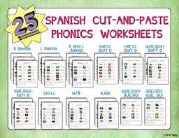 Here, you will find free phonics worksheets to assist in learning phonics rules for reading. 25 Spanish Cut And Paste Phonics Worksheets Tpt