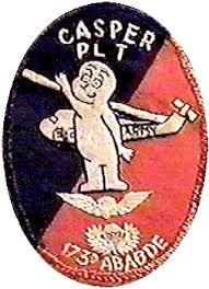 casper patch. this is the earliest version of casper patch worn h