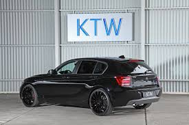 KTW Launches Black And White Package For BMW 1 Series - autoevolution