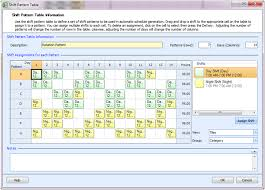 Shift Plan Employee Scheduling Example 24 7 12 Hr Shifts Staff With