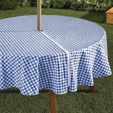 outdoor round tablecloth umbrella hole grandelevage com