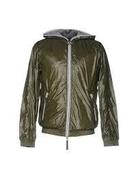 duvetica er military green men coats and jackets duvetica pom pom ski hat amazing