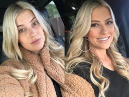 christina anstead before after makeup