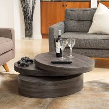modern furniture coffee table. the carson oval mod rotating wood coffee table offers a clear late 60u0027s vibe to any modern furniture