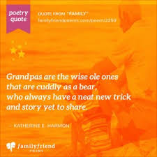 Grandkids Quotes Enchanting Grandfather Poems Poetry About Grandfathers From Grandkids