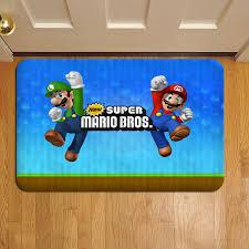 super mario world 3d bros 545 door mat rug carpet doormat doorsteps foot pads