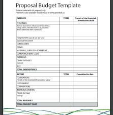 Budget Proposal Template Excel Sample Budget Template Excel Sample Budget Template Excel Info
