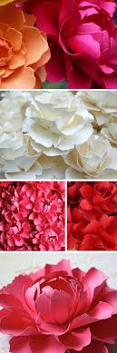 Diy Giant Paper Rose Flower Step By Step Make Your Own Paper Flowers Beautiful Http