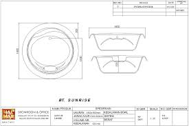 here to view complete specification bathtub sunrise