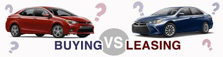 buy v lease lease or buy a new vehicle 802 toyota