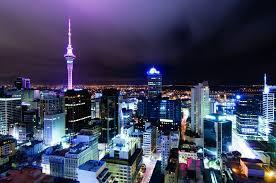 Night Light Auckland Auckland Harbour Oaks Auckland City At Night Night City
