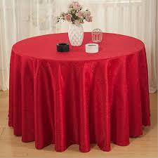 90 round cotton tablecloths designs