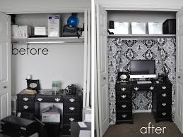 office in a closet. Thursday\u0027s Tip {Office Closet - Before \u0026 After} Office In A