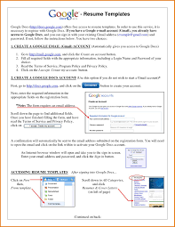 Template Free Google Docs Resume Template In English Marvelous