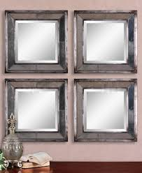 Mirror Tiles Decorating Ideas Furniture Top Notch Square Bevelled Mirror Tiles For Your Wall 24