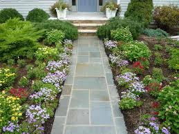 Small Picture Outdoor and Patio Curved Stone Walkways Designs For Homes Mixed