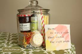 housewarming gift in a jar littlelifeofmine