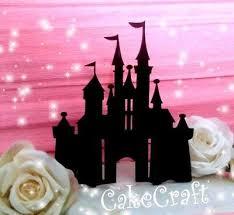 Disney Castle Cake Topper Zeppyio