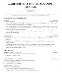Example Of Career Aspiration Great Objectives For Warehouse Resumes Career Aspirations Example