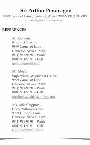Resume References Simple How To Do References For A Resume Formatted Templates Example