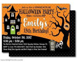Free Halloween Birthday Invitation Templates Birthday Invitations Halloween Birthday Invitations