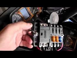 installing extra fuse block in gold wing 1500 motorcycle