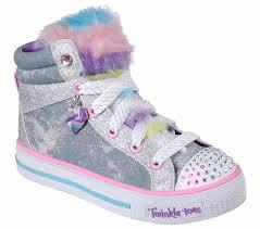 Skechers Light Up Unicorn Shoes Twinkle Toes Shuffles Unicorn Cute