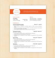 Cv Template Word Design Resume Builder