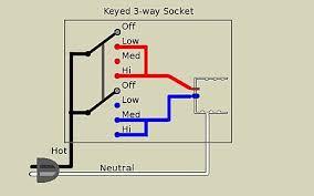 3 way lamp wikipediaa keyed 3 way socket has two terminals