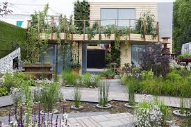 small gardens from chelsea flower show