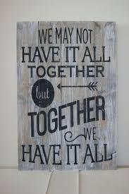 wall art sayings on wood