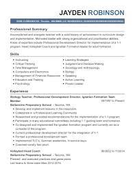 Best Biology Teacher Resumes | Resumehelp