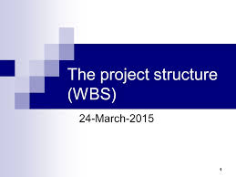 The Project Structure Wbs 24 March Recap Software Development