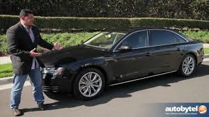 2012 Audi A8-L Test Drive & Car Review - YouTube