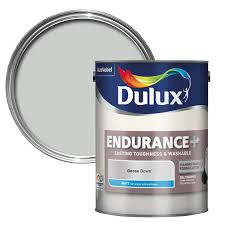 Dulux Endurance Goose Down Matt Wall & Ceiling Paint 5L | Departments | DIY  at B&Q