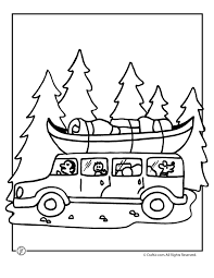 Small Picture Camp Activities Camping Coloring Pages