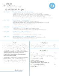 Bunch Ideas Of Digital Advertising Resume In Resume Sample